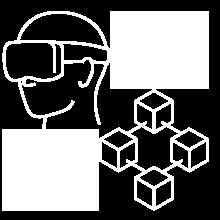 Tekradar ikon: AR/VR og Blokkjede